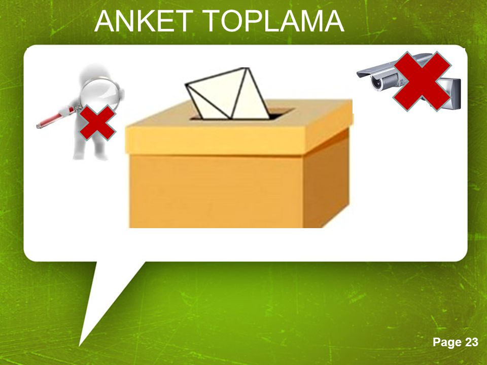 ANKET TOPLAMA