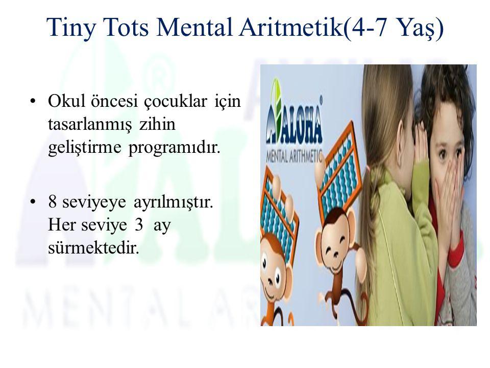 Tiny Tots Mental Aritmetik(4-7 Yaş)