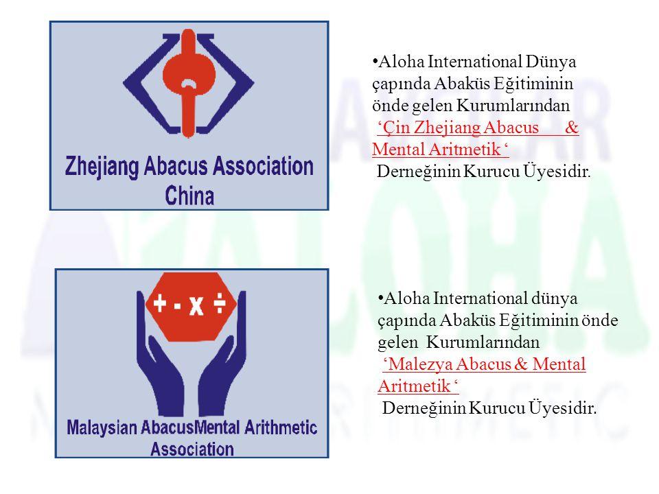 Aloha International Dünya çapında Abaküs Eğitiminin önde gelen Kurumlarından