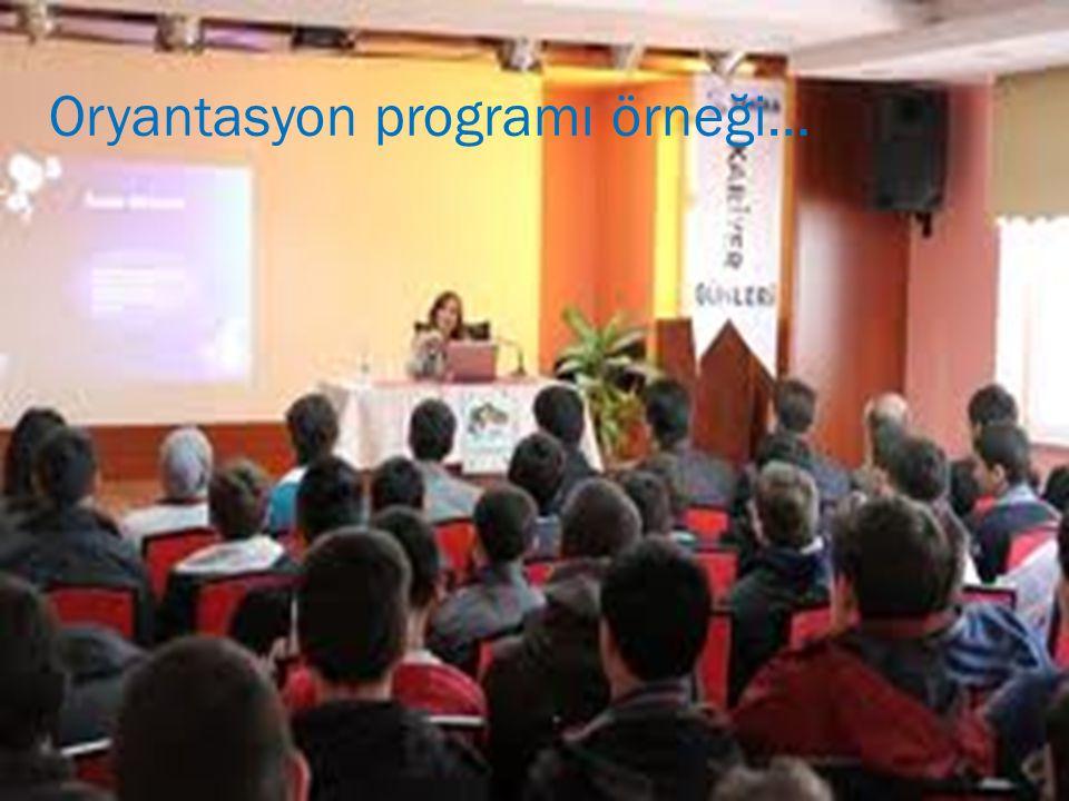 Oryantasyon programı örneği…