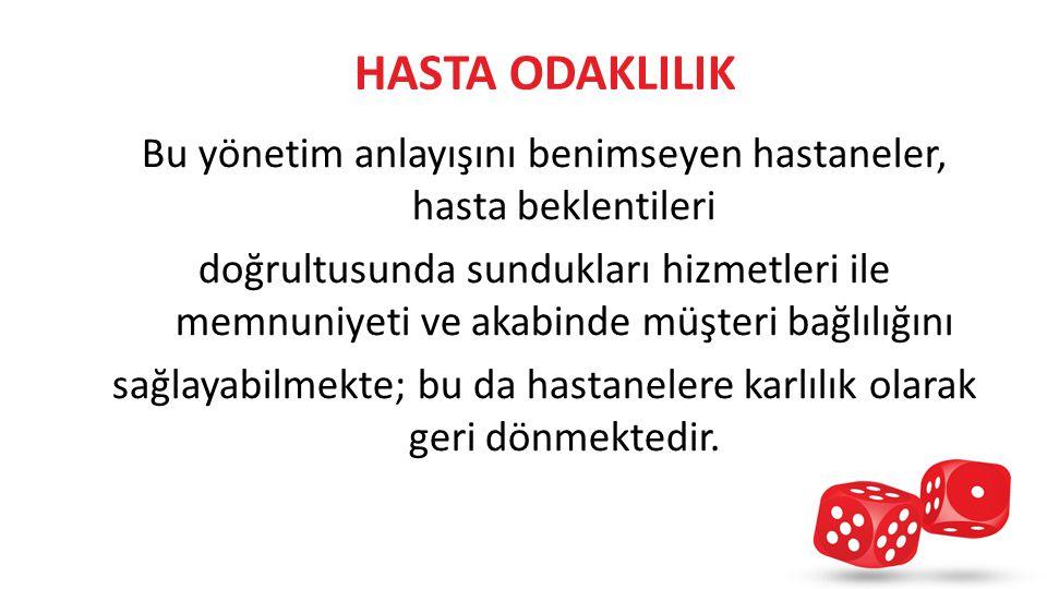 HASTA ODAKLILIK