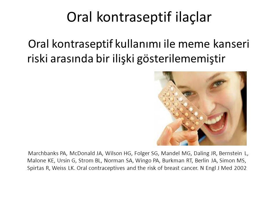 Oral kontraseptif ilaçlar