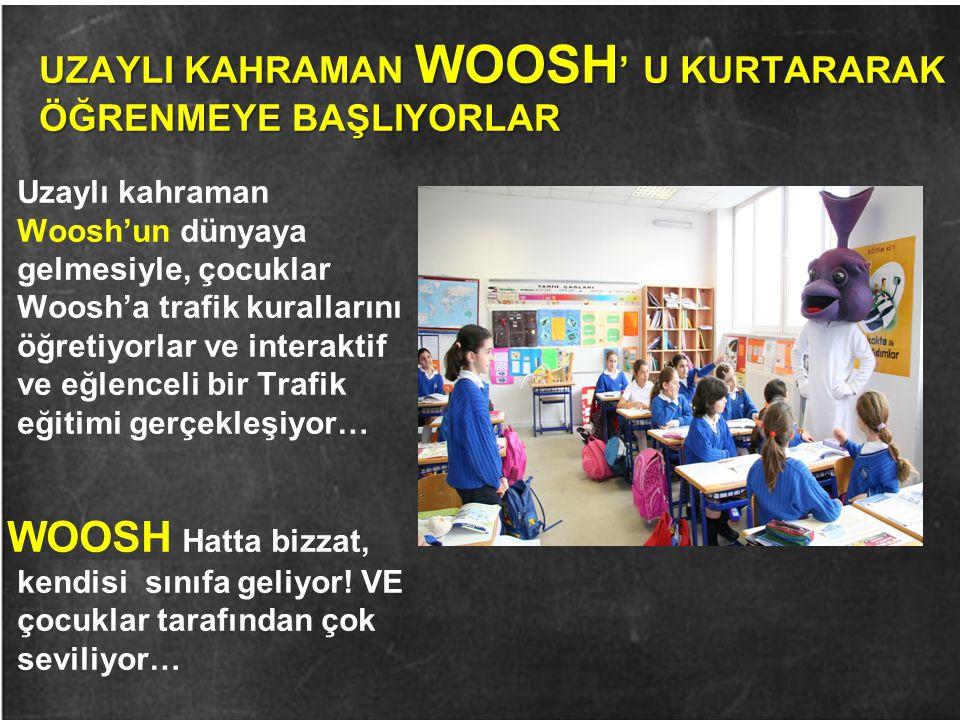 UZAYLI KAHRAMAN WOOSH' U KURTARARAK ÖĞRENMEYE BAŞLIYORLAR