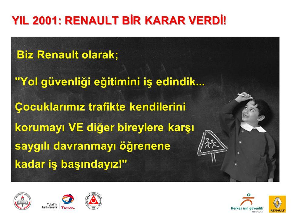 YIL 2001: RENAULT BİR KARAR VERDİ!