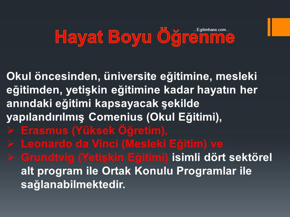 Hayat Boyu Öğrenme ...Egitimhane.com...