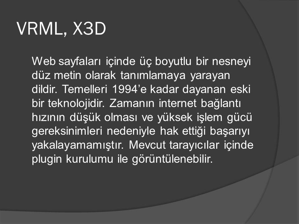 VRML, X3D