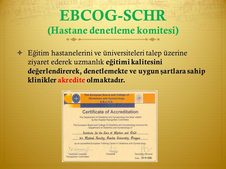 EBCOG-SCHR (Hastane denetleme komitesi)