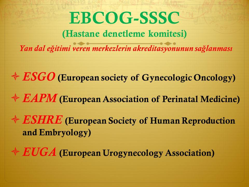 EBCOG-SSSC (Hastane denetleme komitesi)