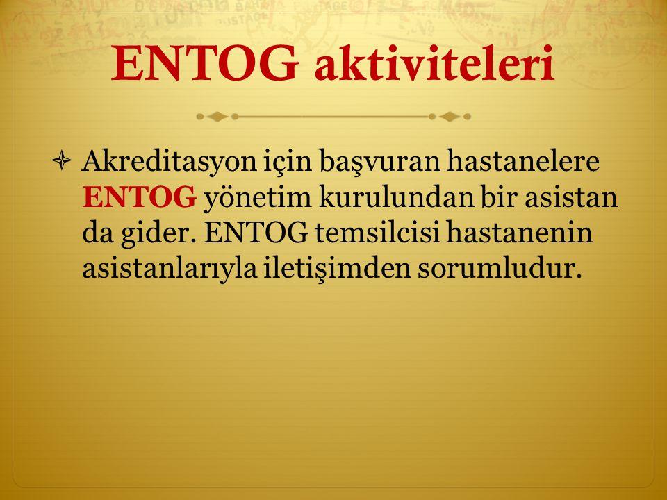 ENTOG aktiviteleri