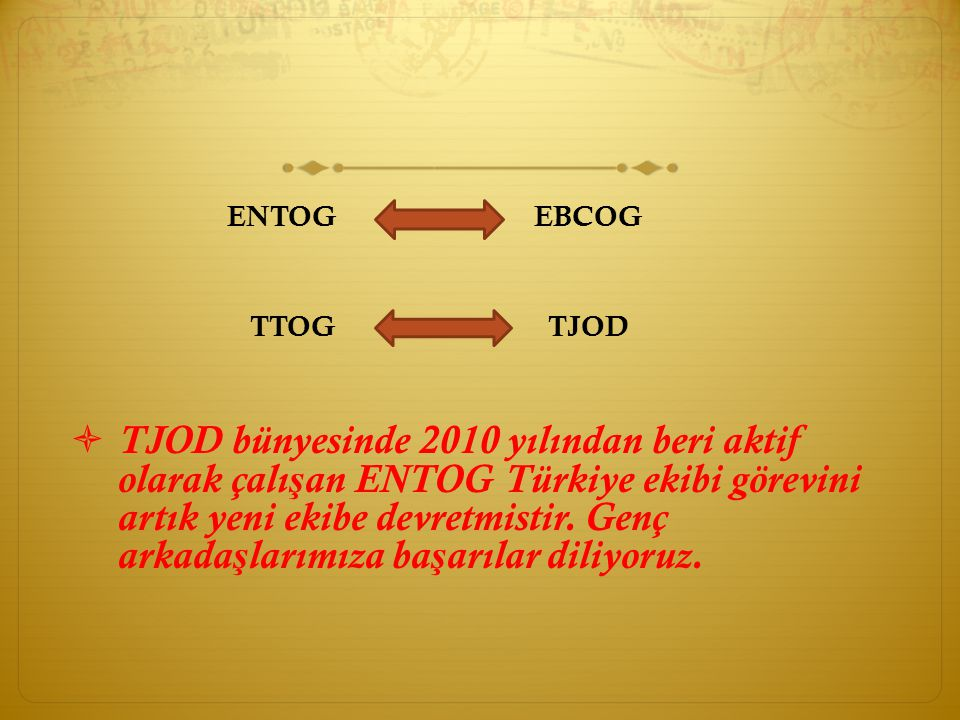 ENTOG EBCOG TTOG TJOD.
