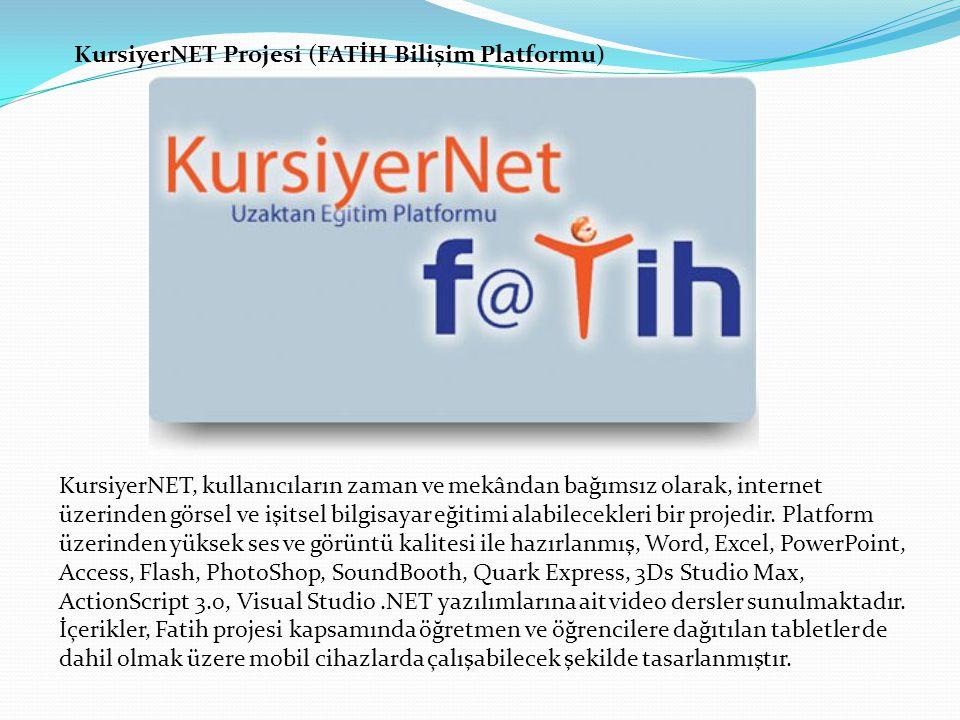 KursiyerNET Projesi (FATİH Bilişim Platformu)