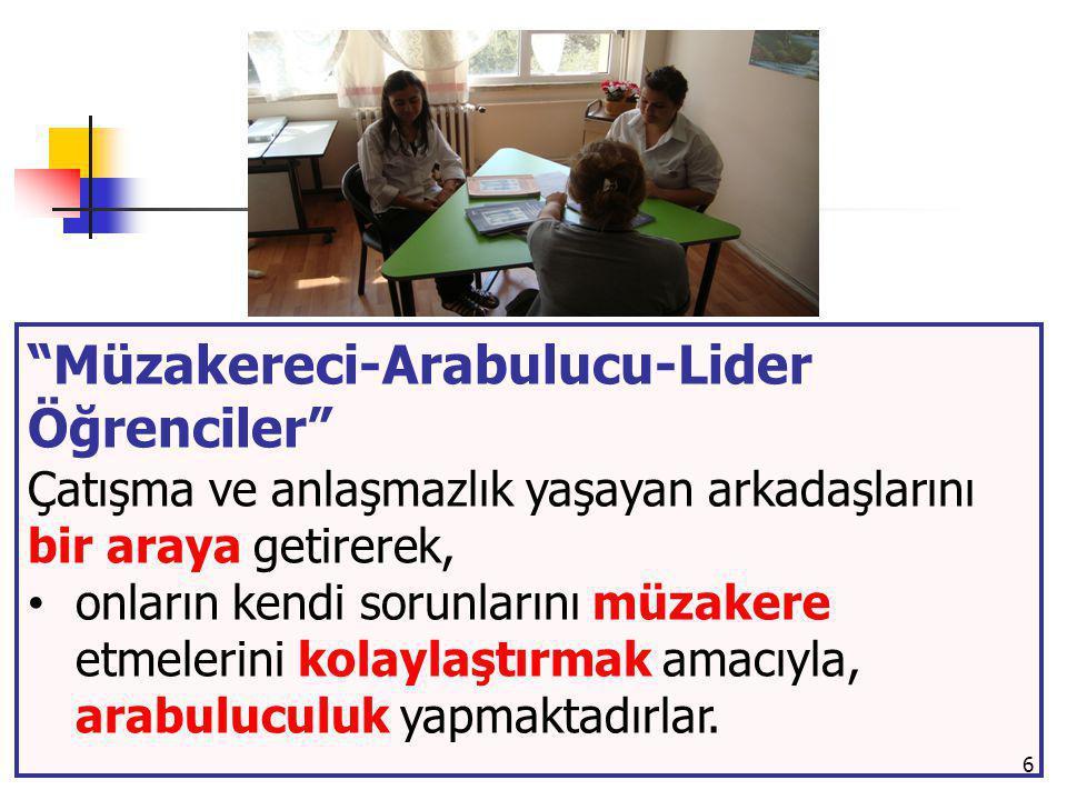 Müzakereci-Arabulucu-Lider Öğrenciler