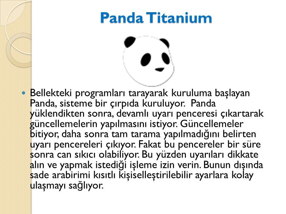 Panda Titanium