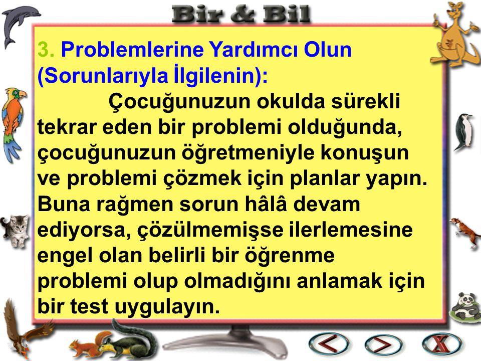 3. Problemlerine Yardımcı Olun (Sorunlarıyla İlgilenin):