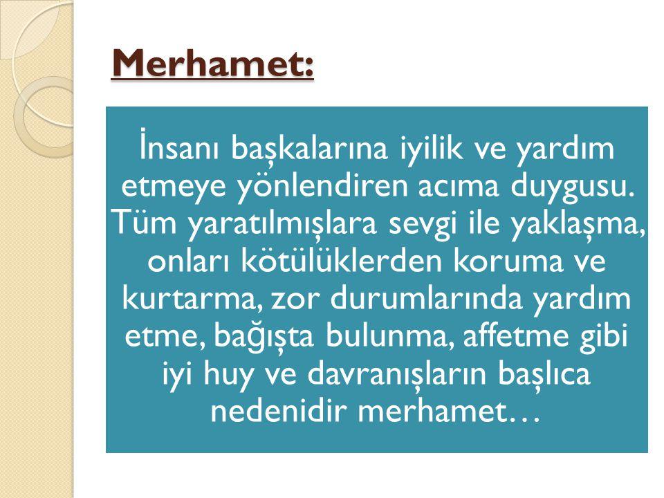 Merhamet:
