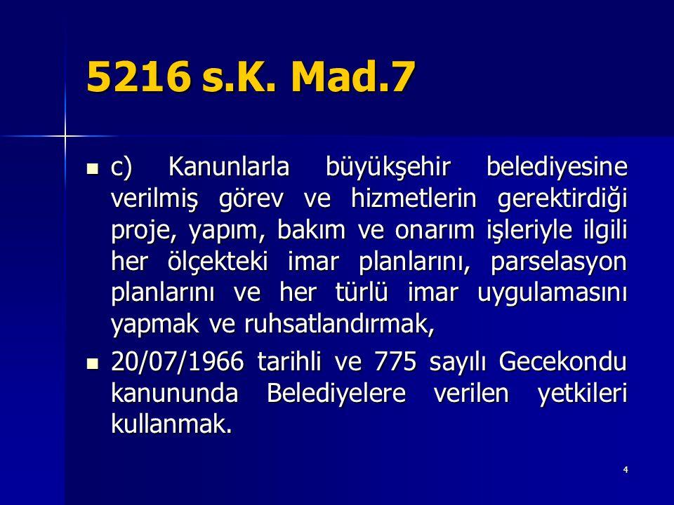 5216 s.K. Mad.7