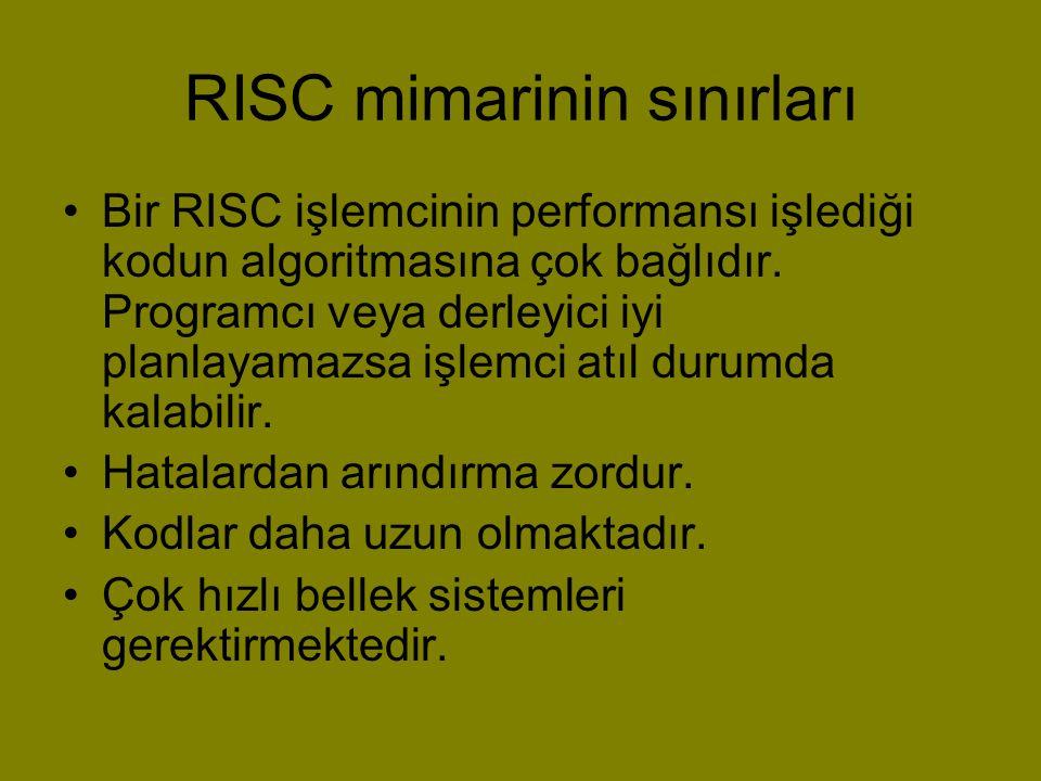 RISC mimarinin sınırları