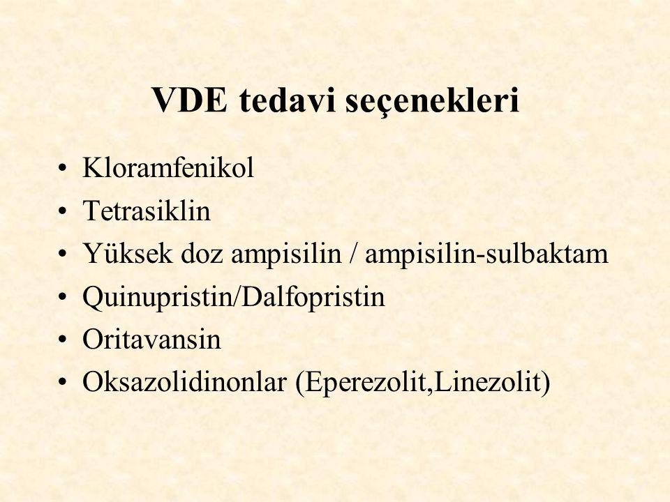 VDE tedavi seçenekleri