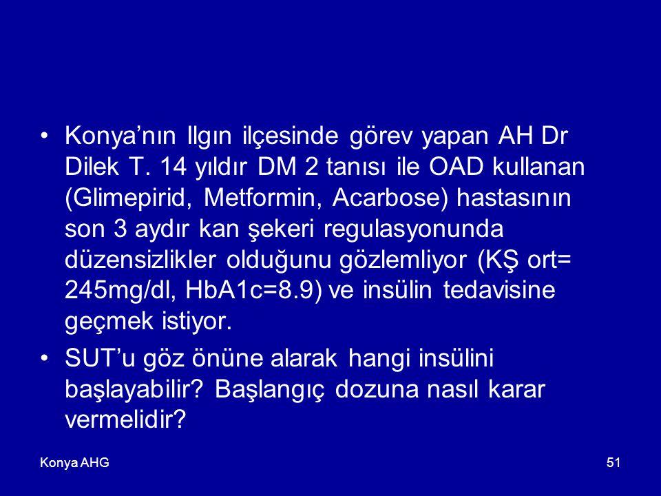 Konya'nın Ilgın ilçesinde görev yapan AH Dr Dilek T