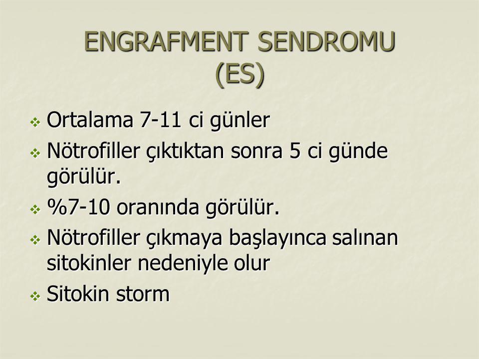 ENGRAFMENT SENDROMU (ES)