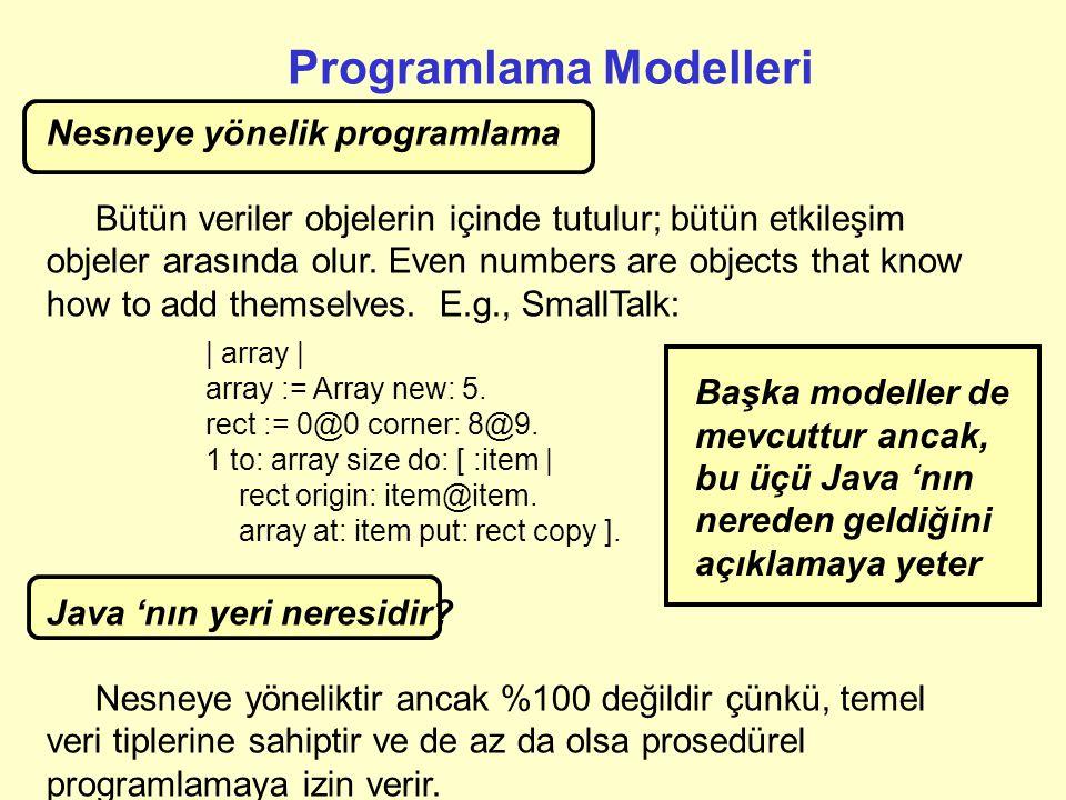 Programlama Modelleri