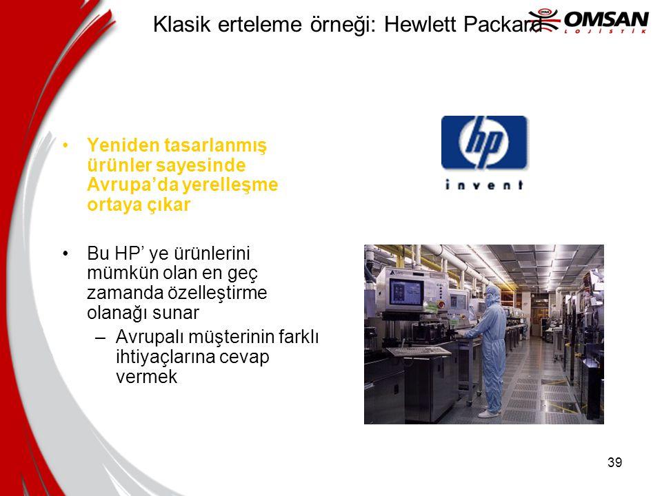 Klasik erteleme örneği: Hewlett Packard
