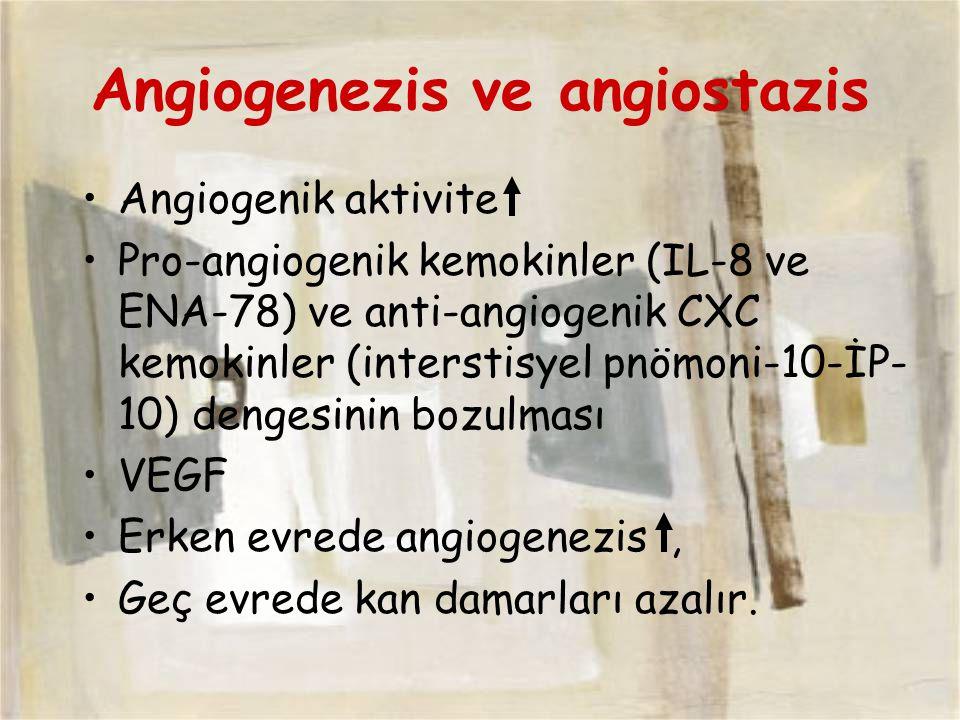 Angiogenezis ve angiostazis