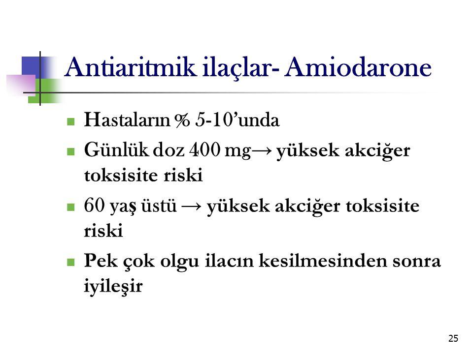 Antiaritmik ilaçlar- Amiodarone