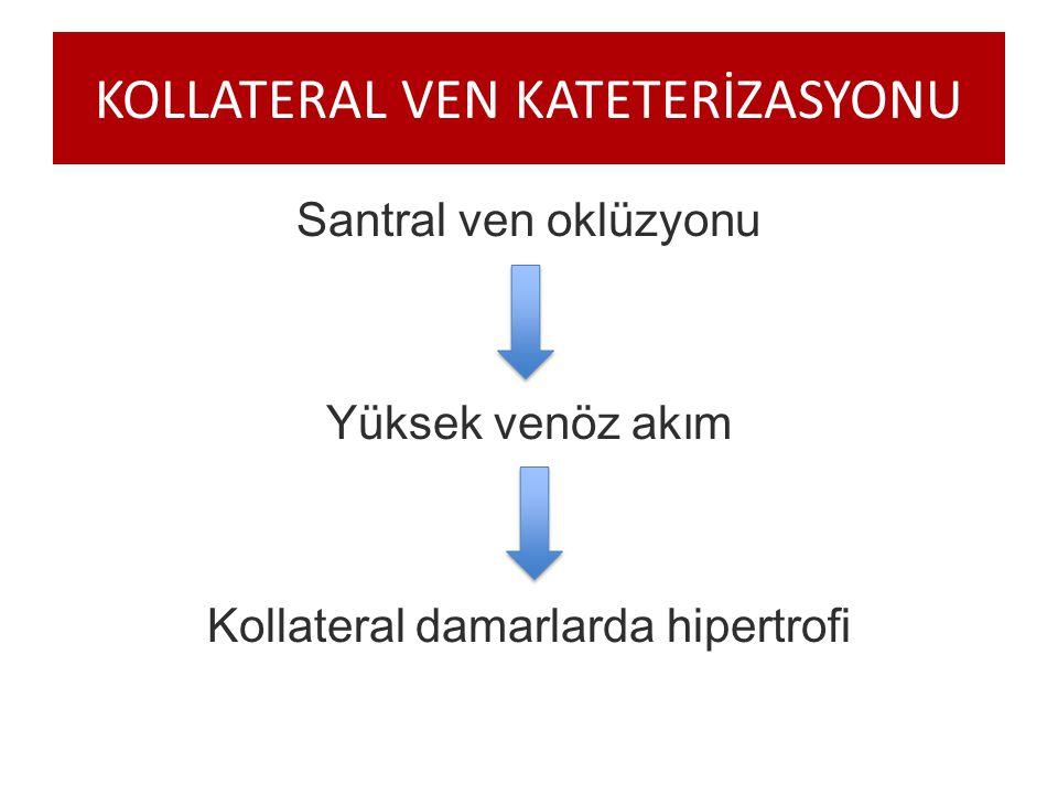 KOLLATERAL VEN KATETERİZASYONU