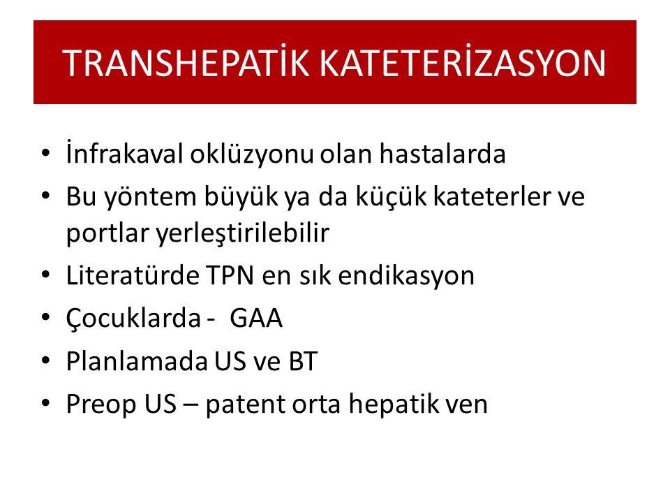 TRANSHEPATİK KATETERİZASYON