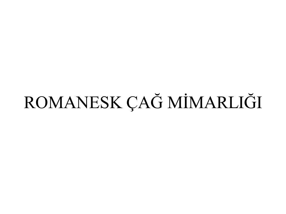 ROMANESK ÇAĞ MİMARLIĞI