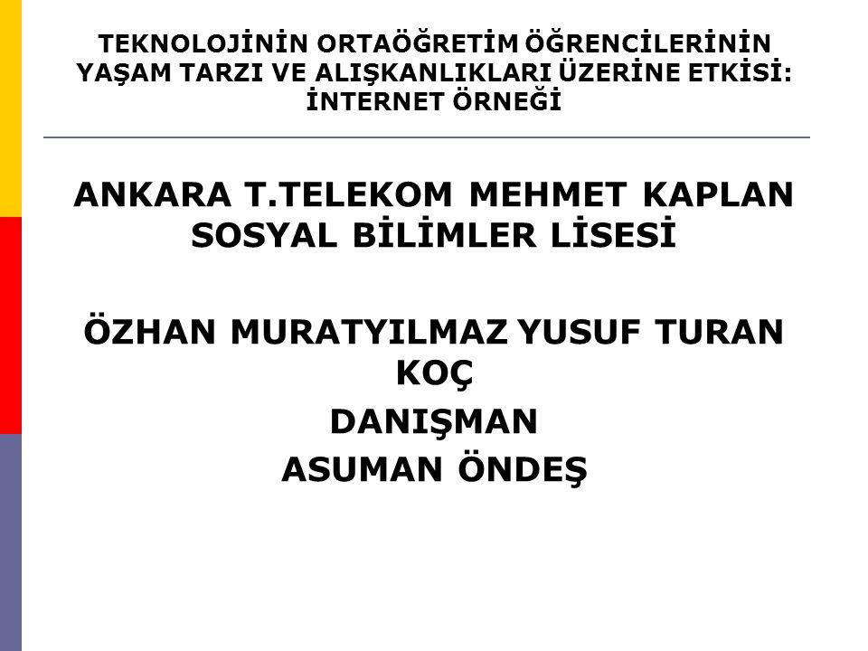 ANKARA T.TELEKOM MEHMET KAPLAN SOSYAL BİLİMLER LİSESİ