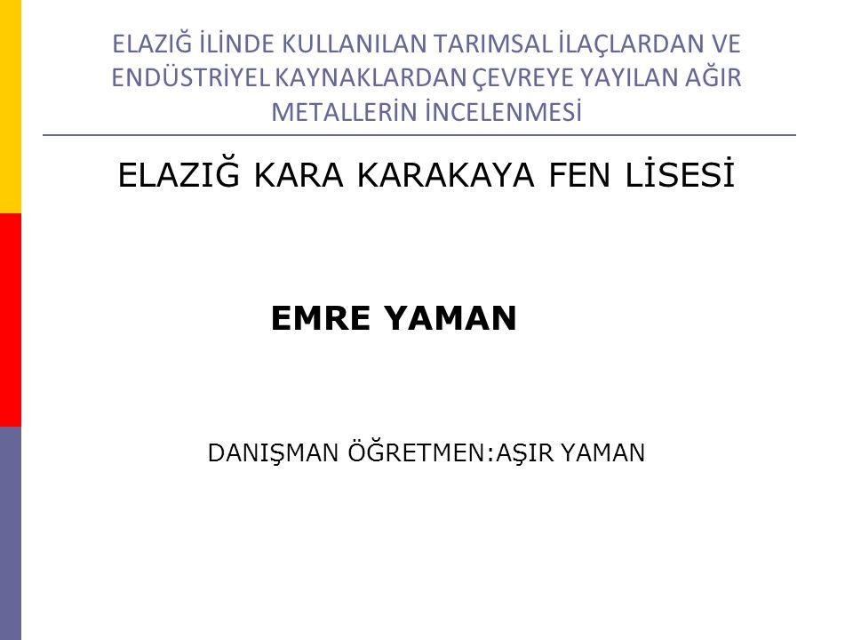 ELAZIĞ KARA KARAKAYA FEN LİSESİ