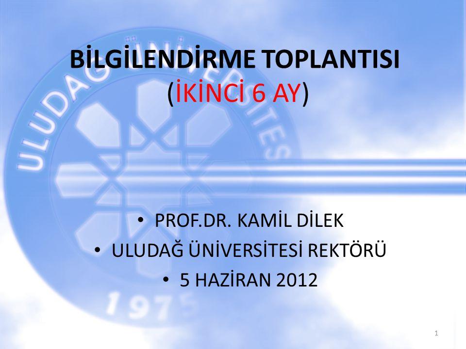 BİLGİLENDİRME TOPLANTISI (İKİNCİ 6 AY)