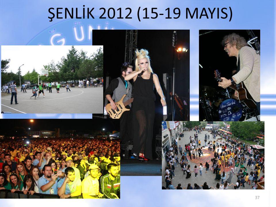 ŞENLİK 2012 (15-19 MAYIS)