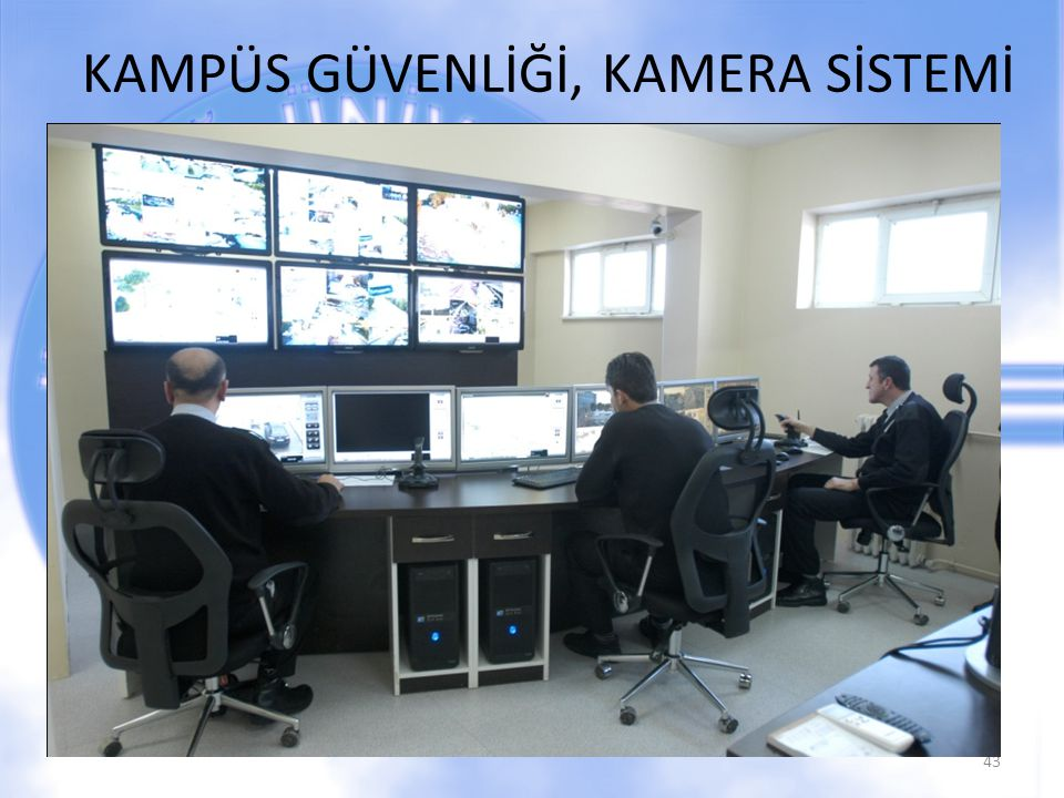 KAMPÜS GÜVENLİĞİ, KAMERA SİSTEMİ