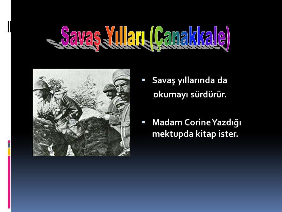 Savaş Yılları (Çanakkale)