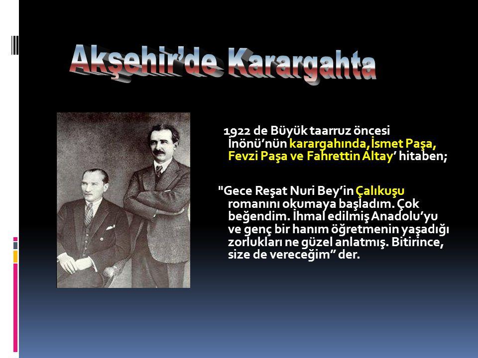 Akşehir'de Karargahta