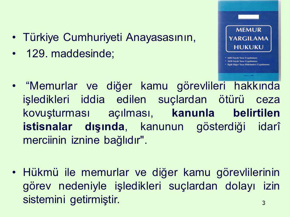 Türkiye Cumhuriyeti Anayasasının,