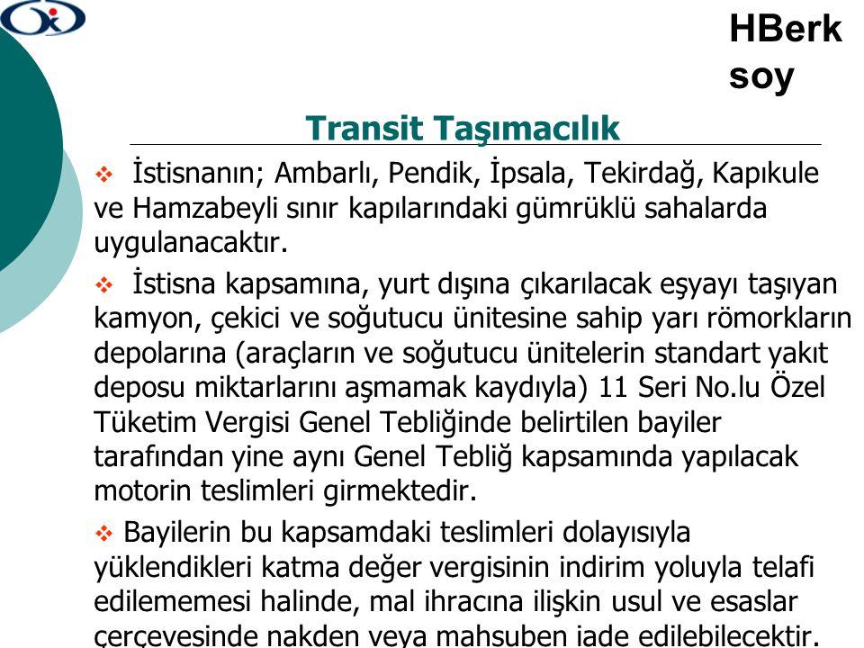 HBerksoy Transit Taşımacılık