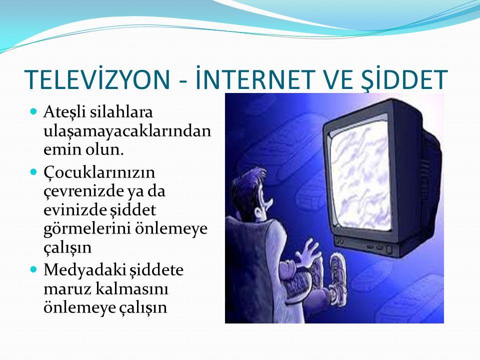 TELEVİZYON - İNTERNET VE ŞİDDET