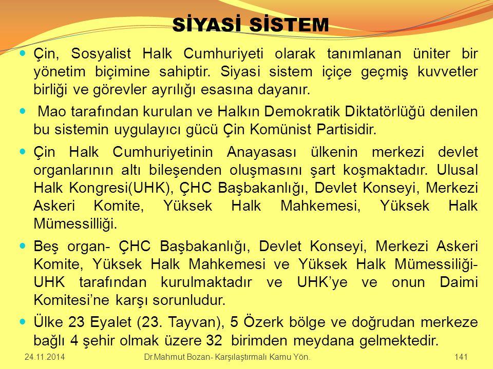 SİYASİ SİSTEM