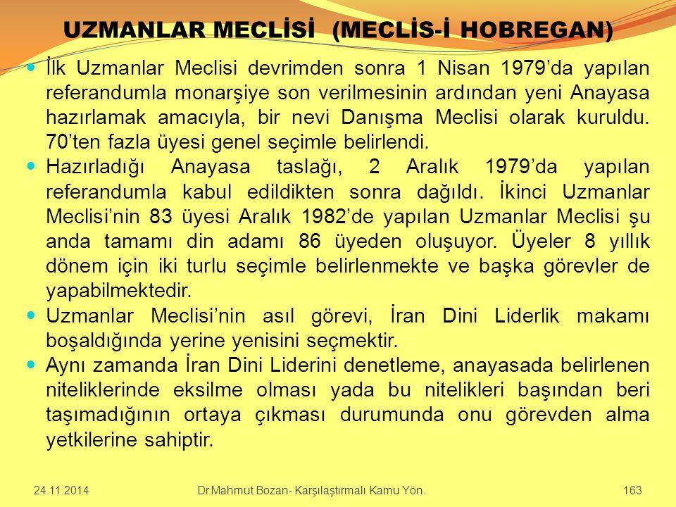 UZMANLAR MECLİSİ (MECLİS-İ HOBREGAN)