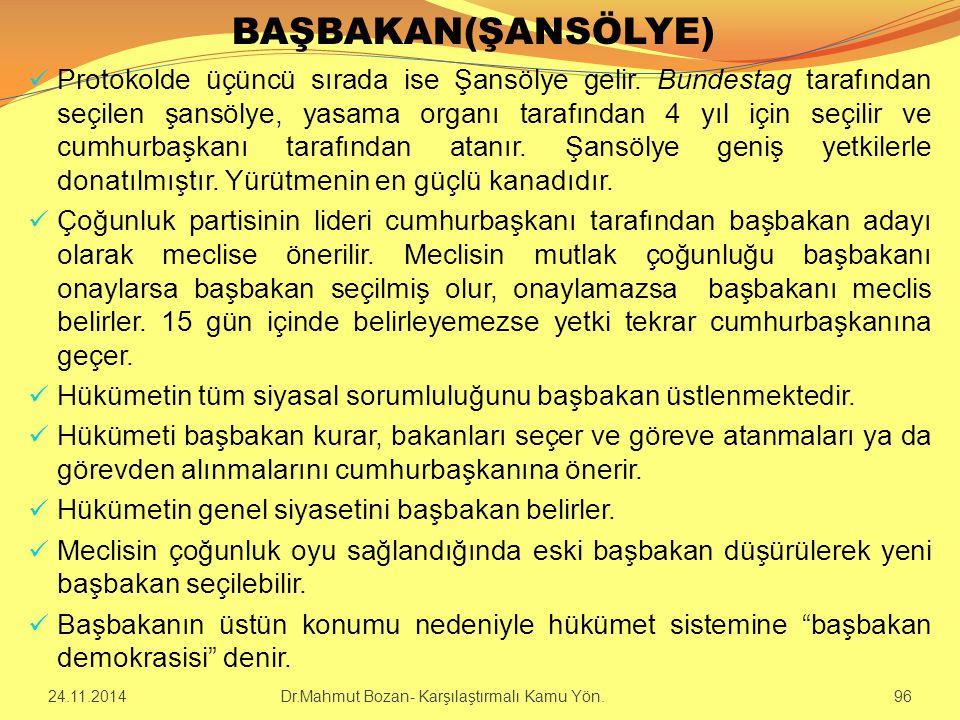 BAŞBAKAN(ŞANSÖLYE)