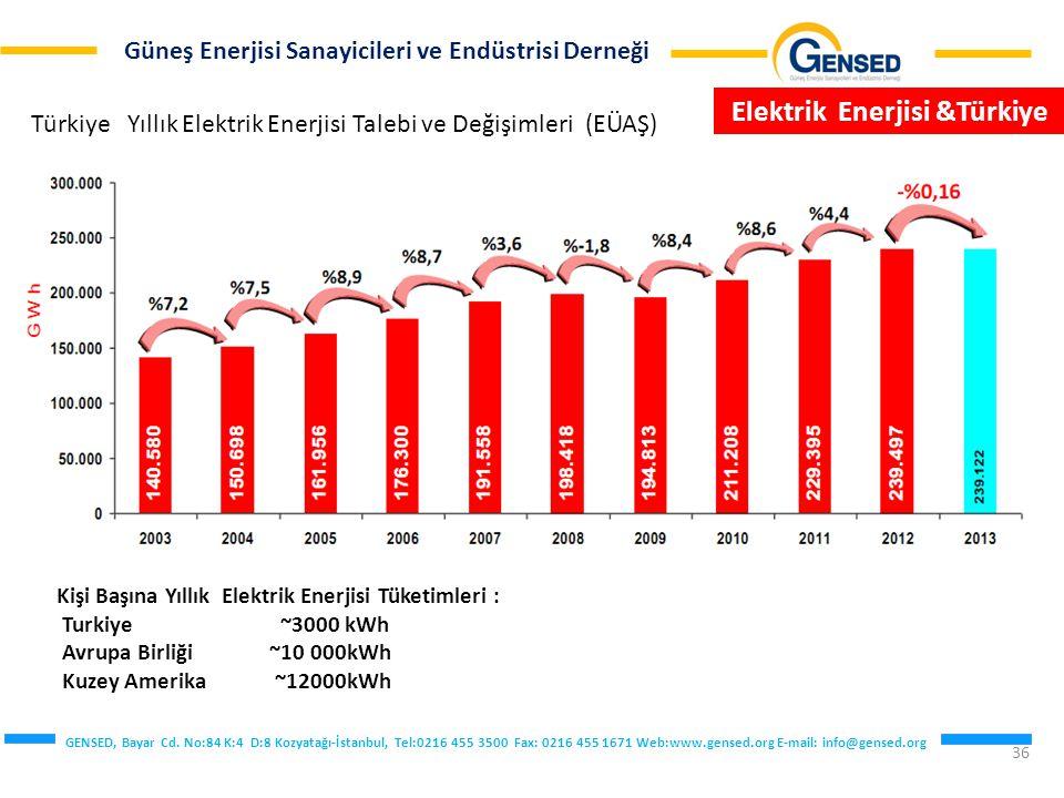 Elektrik Enerjisi &Türkiye