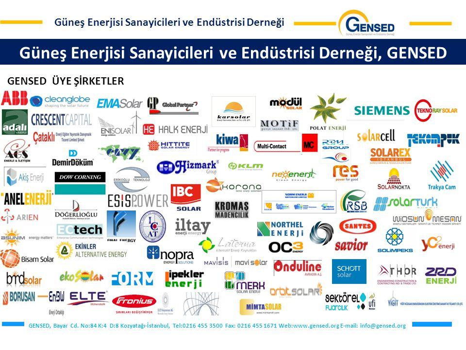 Güneş Enerjisi Sanayicileri ve Endüstrisi Derneği, GENSED