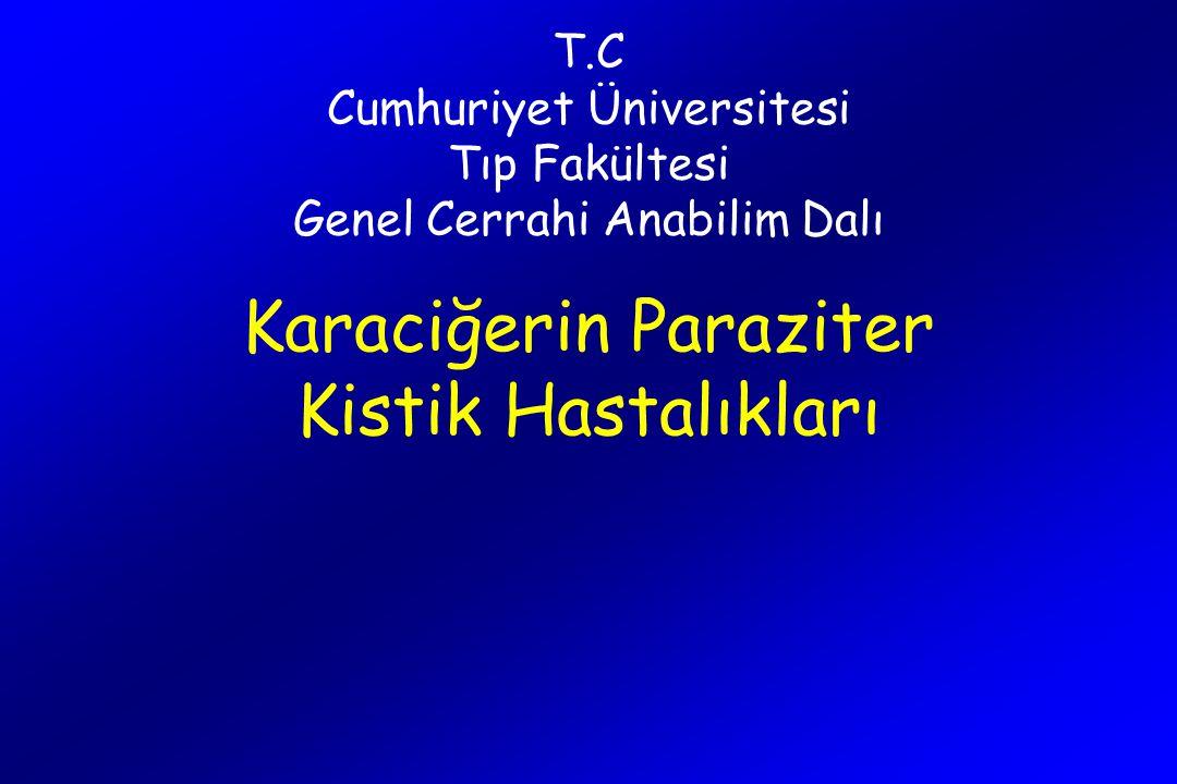 T.C Cumhuriyet Üniversitesi Tıp Fakültesi Genel Cerrahi Anabilim Dalı