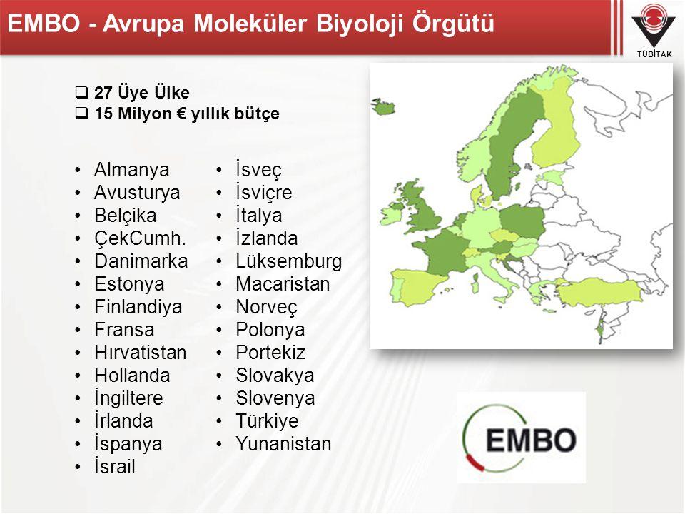 EMBO - Avrupa Moleküler Biyoloji Örgütü