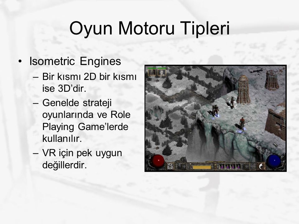 Oyun Motoru Tipleri Isometric Engines