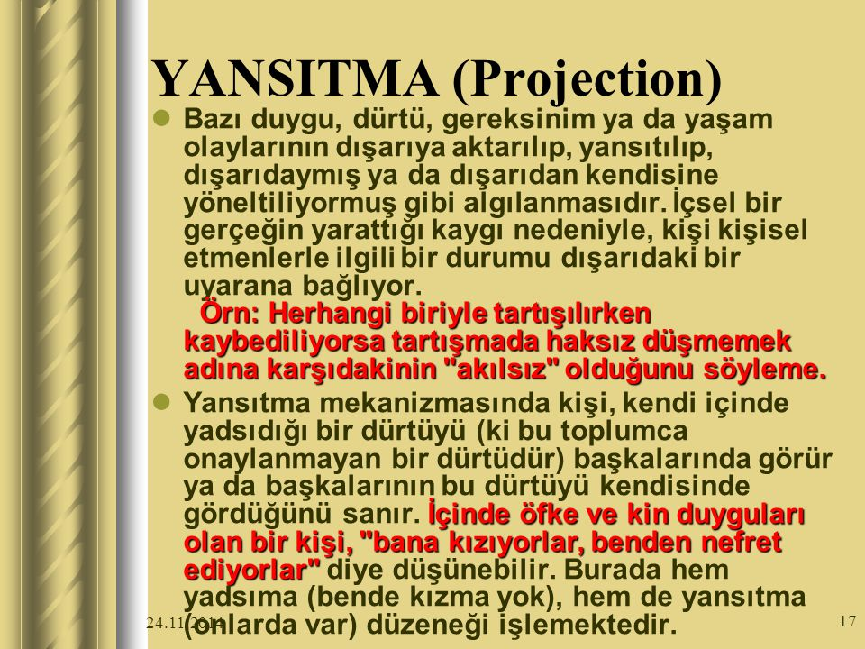 YANSITMA (Projection)
